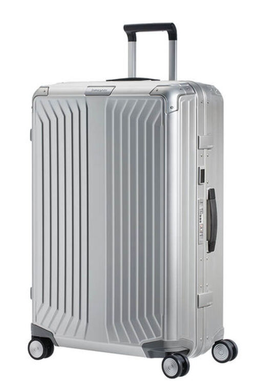 Samsonite LITE-BOX ALU  72公分銀色旅行箱  |大箱(10天以上)