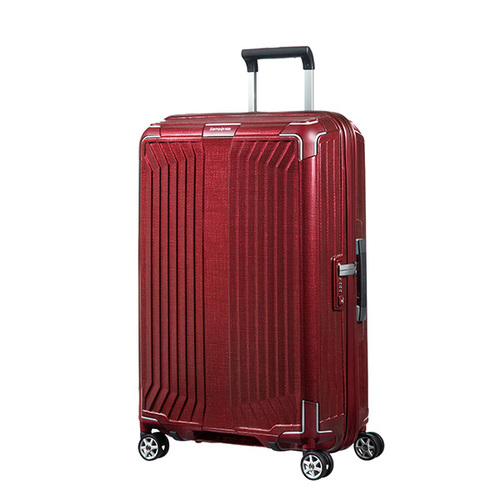 Samsonite Lite-Box  深紅色75公分旅行箱