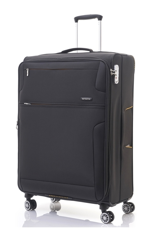 Samsonite CROSSLITE 78.5公分黑色旅行箱