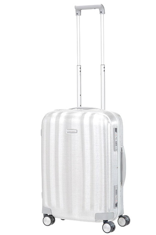Samsonite Black Label  Lite-Cube FR 55公分亮銀色登機示意圖