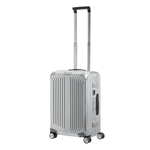 Samsonite LITE-BOX ALU  55公分銀色登機箱  |登機箱(1-3天)