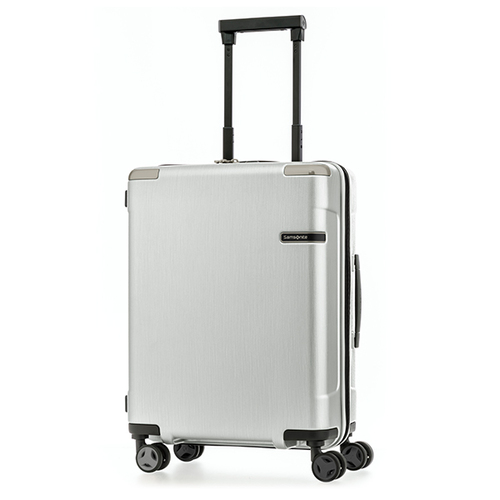 Samsonite EVOA 55公分刷色銀登機箱