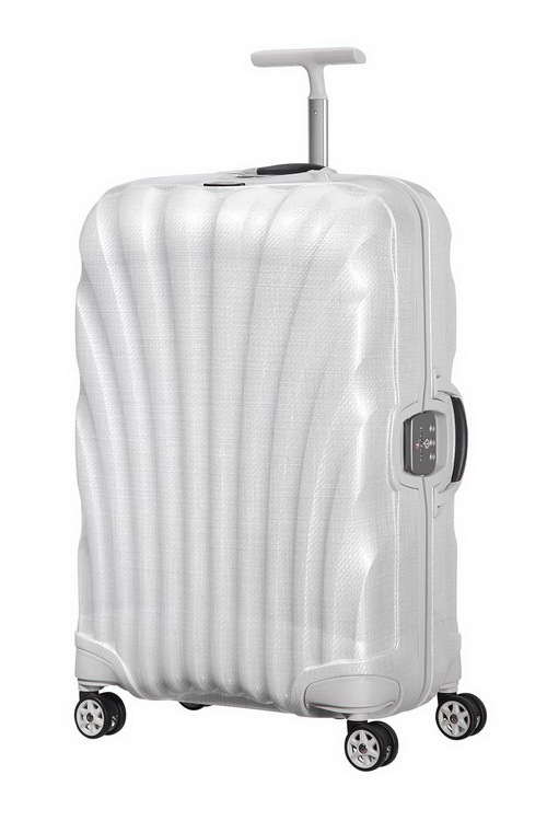 Samsonite Lite-Locked 75公分白色旅行箱
