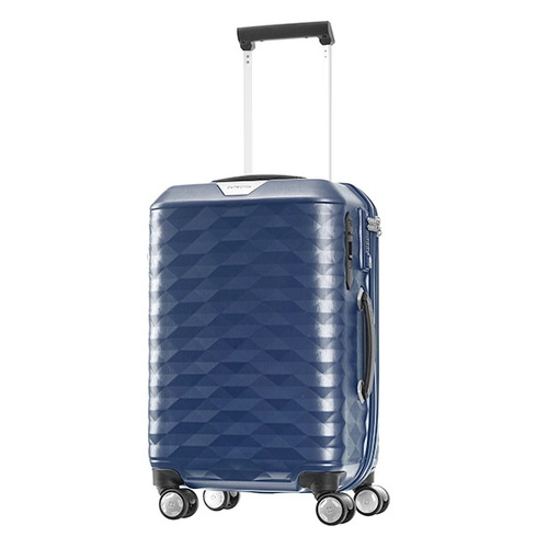 Samsonite polygon  55公分藍色登機箱