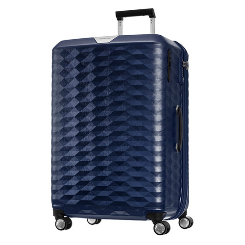 Samsonite polygon  75公分藍色旅行箱