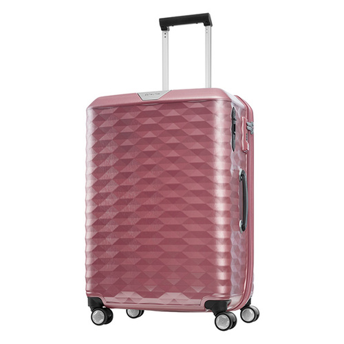 Samsonite polygon  75公分粉紅旅行箱